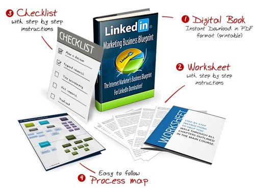 Product picture Linkedin Marketing Business Blueprint